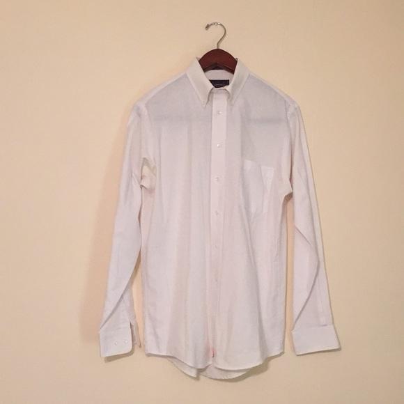 James Campbell Mens Woven Cotton Button-Down